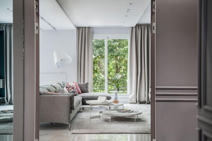 Une maison moderne et parfaite à Paris
