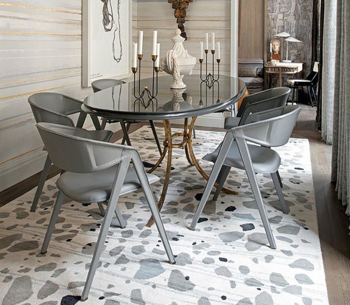 Jean-Louis Deniot  table Table de Noël – Des idées pour décorer votre salle à manger Jean Louis Deniot Dining Table