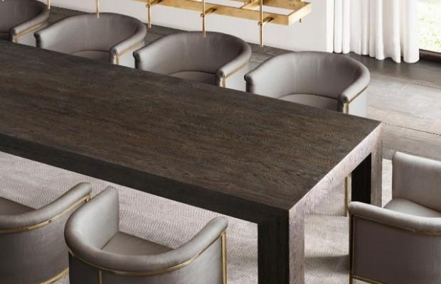 decoration de luxe Des pièces de decoration de luxe inspirées para Stephen Gordon Sophisticated Contract Furniture Pieces By Restoration Hardware 18 620x400
