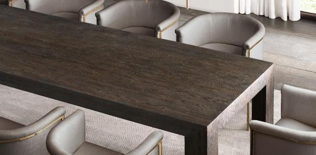 decoration de luxe Des pièces de decoration de luxe inspirées para Stephen Gordon Sophisticated Contract Furniture Pieces By Restoration Hardware 18 640x315