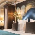 voir les interieurs superbes d'hotel da vinci paris