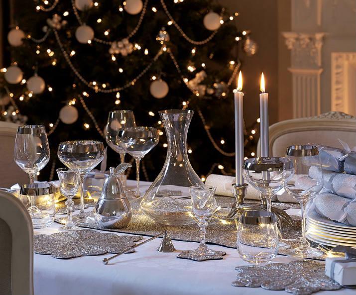 Christmas  table Table de Noël – Des idées pour décorer votre salle à manger christmas table 3