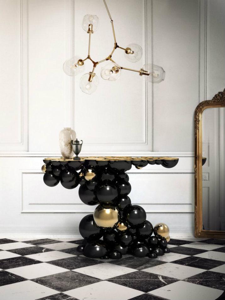 consoles modernes consoles modernes Les consoles modernes idéales pour décorer votre maison ! 30 Modern Console Tables for Contemporary Interiors 241