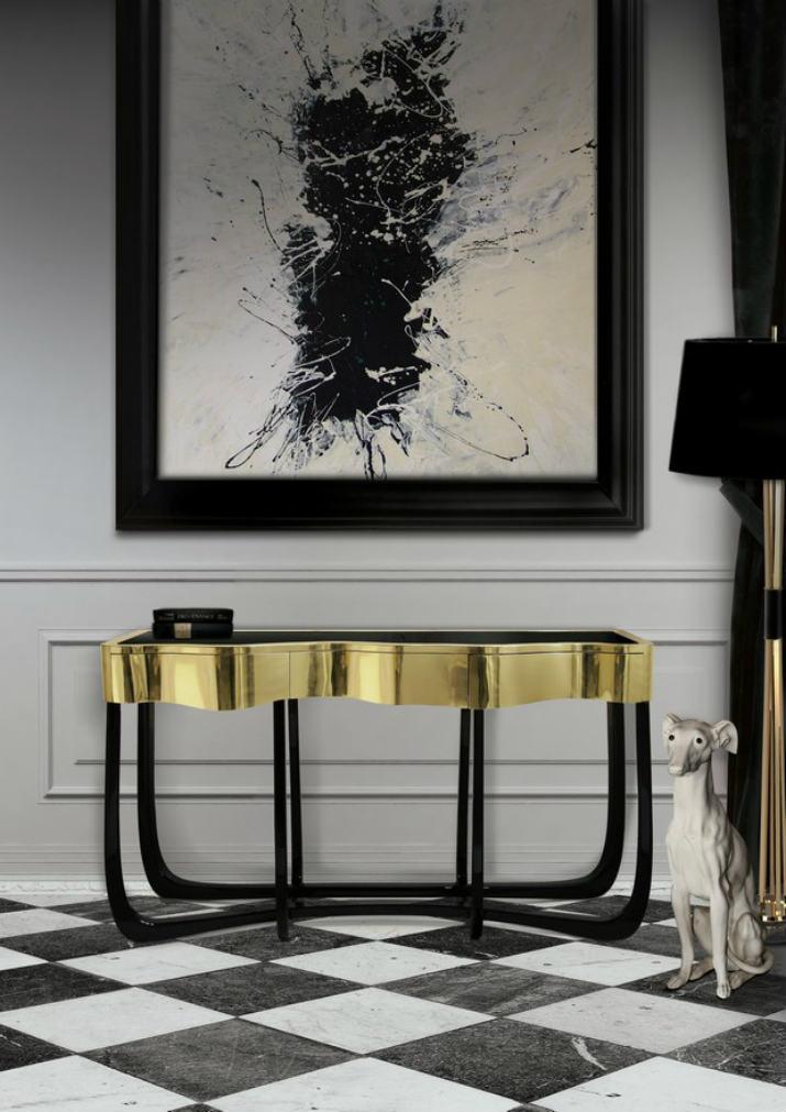 consoles modernes consoles modernes Les consoles modernes idéales pour décorer votre maison ! 30 Modern Console Tables for Contemporary Interiors 261