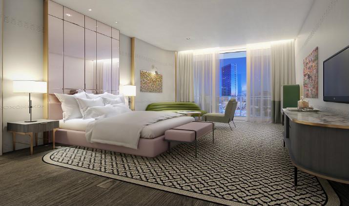 SLS Brickell à Miami sls brickell SLS Brickell – Une oasis urbaine à Miami 5 27 15 2 Hotel Suite SLS LUX Brickell