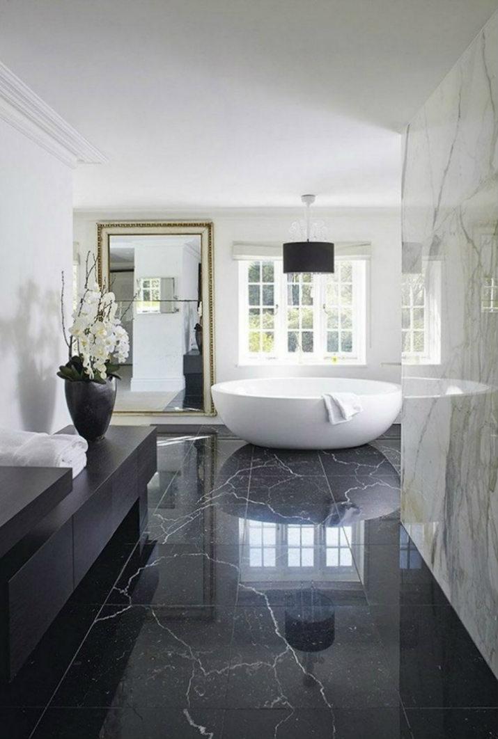 salle de bains noires salle de bains 7 idées de design de salle de bains noires de luxe 6 8