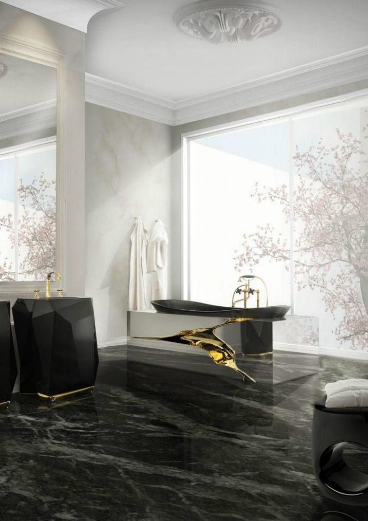 salle de bains noires salle de bains 7 idées de design de salle de bains noires de luxe 8020f00b2aa4c18345bba0cc12aabe79