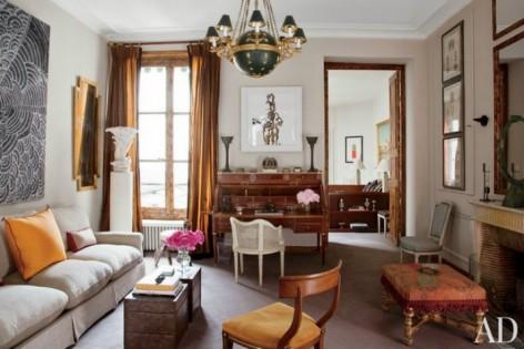 interieurs-parisiens-2 intérieurs Le charme de 10 intérieurs parisiens qui vont vous faire craquer Int  rieurs Parisiens 2