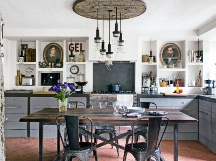 luminaires-cuisine-12  STYLE INDUSTRIEL: LE LUMINAIRE PARFAIT POUR VOTRE CUISINE Luminaires Cuisine 12