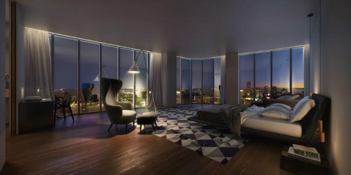 SLS Brickell à Miami sls brickell SLS Brickell – Une oasis urbaine à Miami SLS Brickell 2 Master Bedroom 960x600