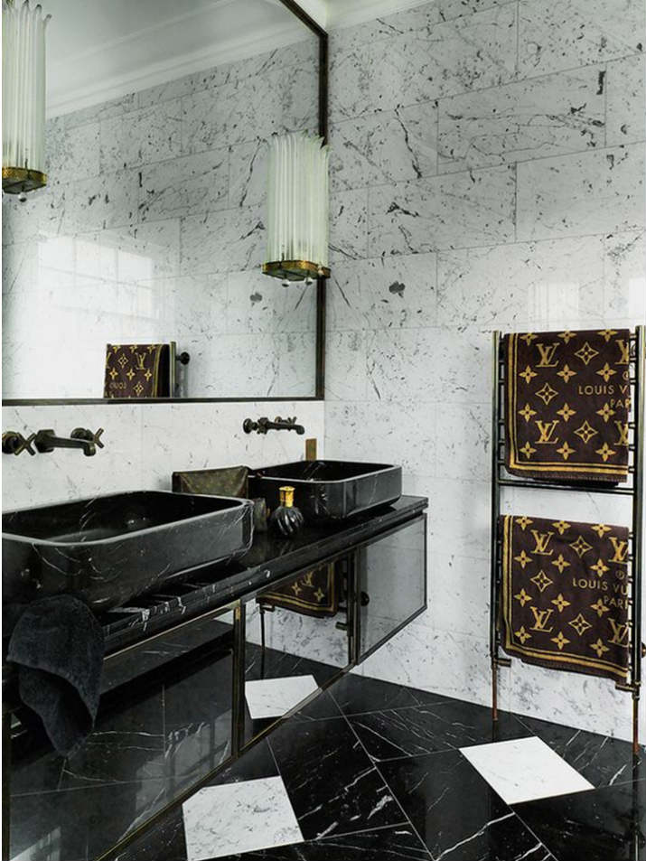 salle de bain de luxe salle de bains 7 idées de design de salle de bains noires de luxe Slide23