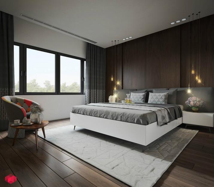 chambre de luxe textures murales Idées de textures murales élégantes pour 2017 Top Bedroom Wall Textures Ideas dark room