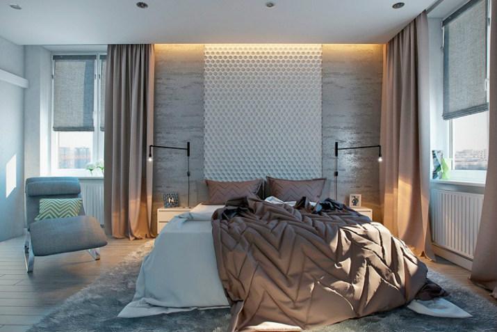 chambre de luxe textures murales Idées de textures murales élégantes pour 2017 Top Bedroom Wall Textures Ideas strange combinations