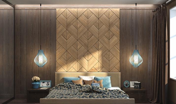 chambre de luxe textures murales Idées de textures murales élégantes pour 2017 Top Bedroom Wall Textures Ideas wood
