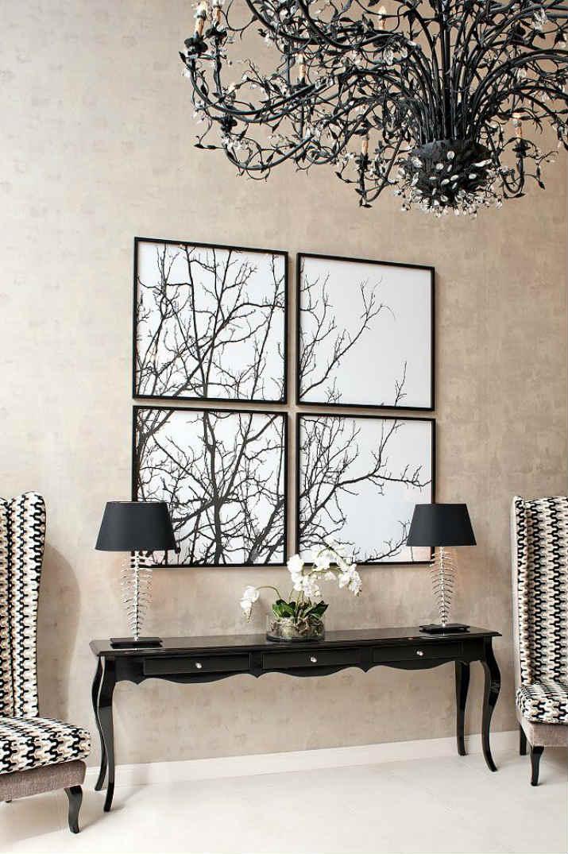 consoles noir consoles modernes Les consoles modernes idéales pour décorer votre maison ! c02da85f9fd3bd156a51f3c082f17081