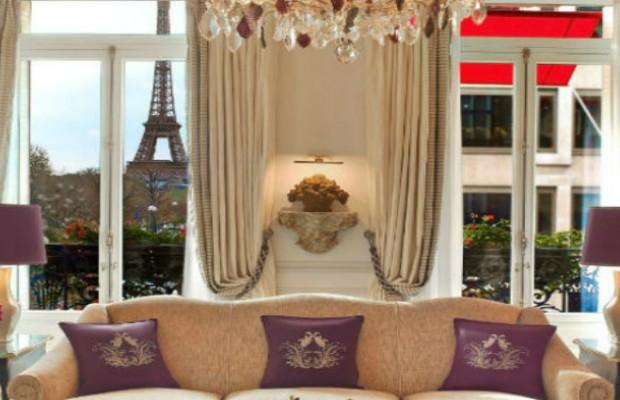 Hôtels de Luxe: Plaza Athénée L'adresse de l' Haute Couture à Paris