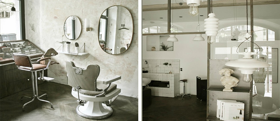 salon de coiffure Salon de coiffure « Le discret » à Annecy par Entre les Murs featured image4