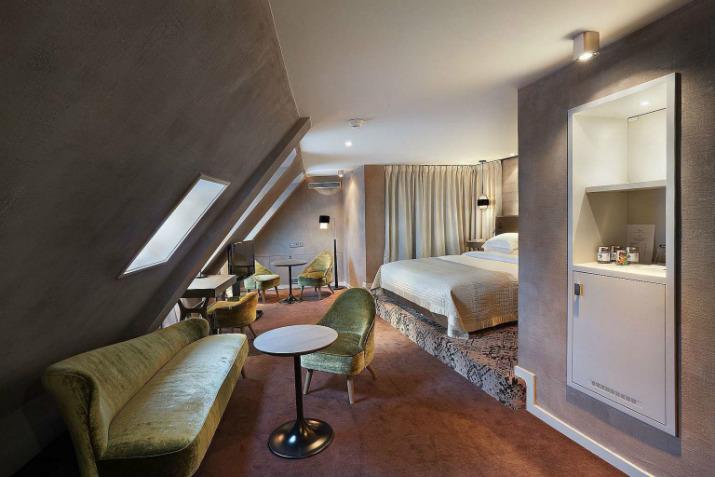 hôtel littéraire parisien pavillon des lettres Paris Hôtels: Le Pavillon des Lettres par Kerylos Intérieurs junior suite baudelaire