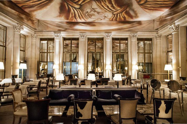 restaurant le dali hotel le meurice Hotel le Meurice – Le joyau des palaces français luxury hotel france paris le meurice restaurant le dali lg 3