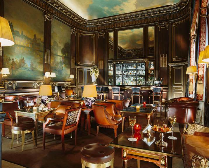 bar 228 hotel le meurice Hotel le Meurice – Le joyau des palaces français luxury hotels france paris le meurice bar lg