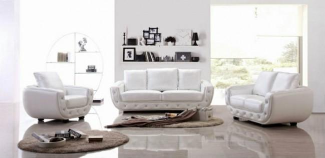 Couleur Blanche blanche L'indémodable couleur blanche salon en blanc deco 649x315