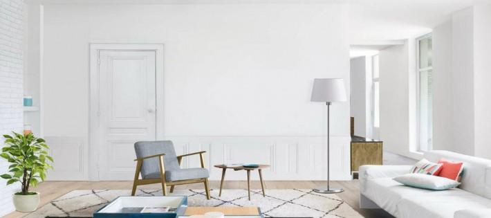 L'indémodable couleur blanche blanche L'indémodable couleur blanche salon entierement blanc 710x315