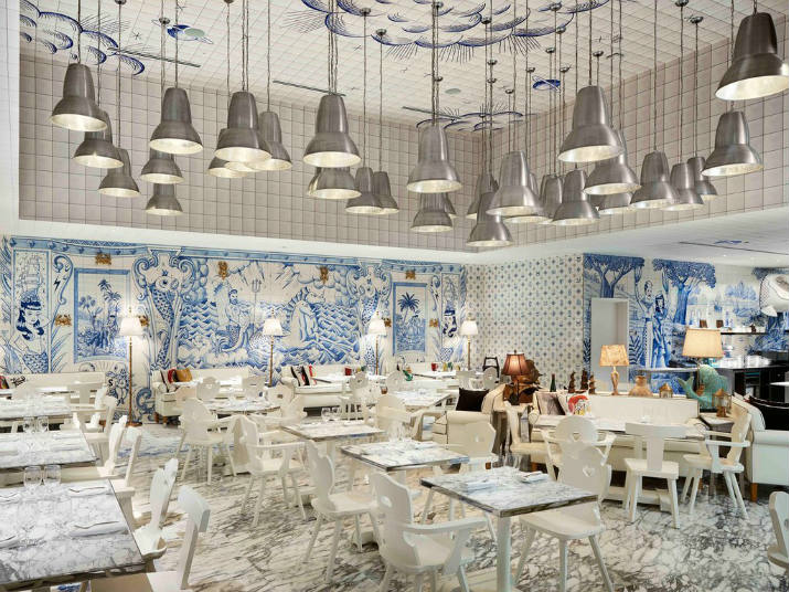 Hôtel de luxe à Miami sls brickell SLS Brickell – Une oasis urbaine à Miami sls brickell Bazaar Mar Jose Andres cr courtesy