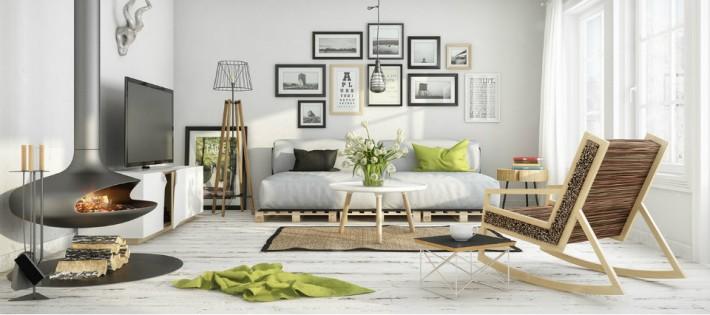 Style scandinave avec une sélection de quelques étonnantes idées de décoration