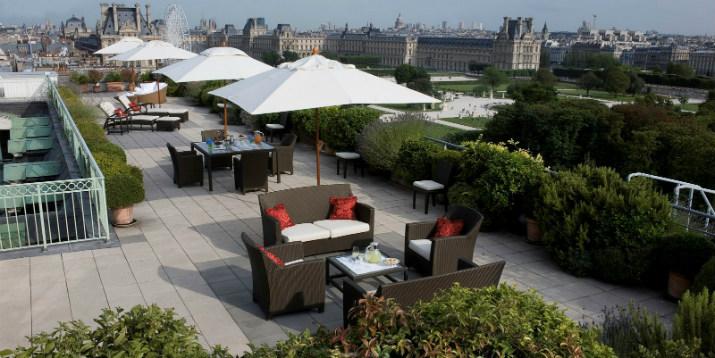 hotel le meurice hotel le meurice Hotel le Meurice – Le joyau des palaces français terrace of the belle etoile suite at le meurice paris