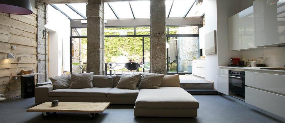 OSCAR DES SALONS QUI MÉRITENT UN OSCAR 129323 salon design et contemporain grand salon lumineux donnant