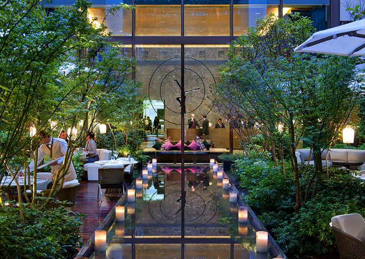 Maison et Objet maison et objet Hôtels inspirants à Paris pour séjourner pendant Maison et Objet 5Hotel Mandarin Oriental Paris Jardim
