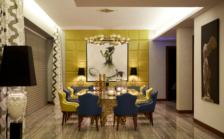 éclairage salle à manger éclairage Idées d'éclairage pour une salle à manger digne d'un intérieur de luxe Dining room lighting ideas Brabbu Horus