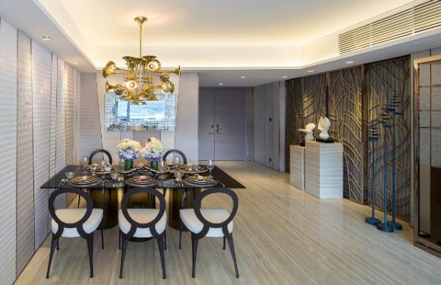 éclairage Idées d'éclairage pour une salle à manger digne d'un intérieur de luxe Dining room lighting ideas Delightfull Botti 11 620x400