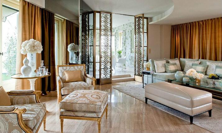 Maison et Objet maison et objet Hôtels inspirants à Paris pour séjourner pendant Maison et Objet V PenthouseLivingRoom Olielo