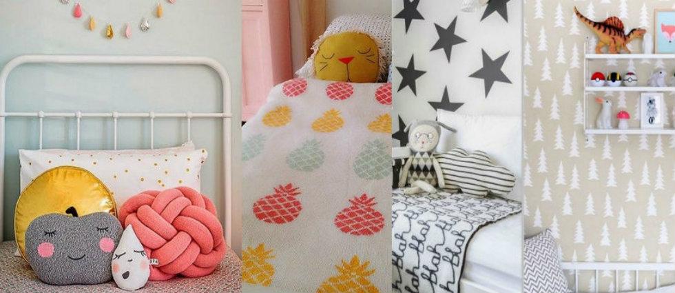 enfants Chambres d'enfants : idées de décoration moderne kids bedroom decorating ideas