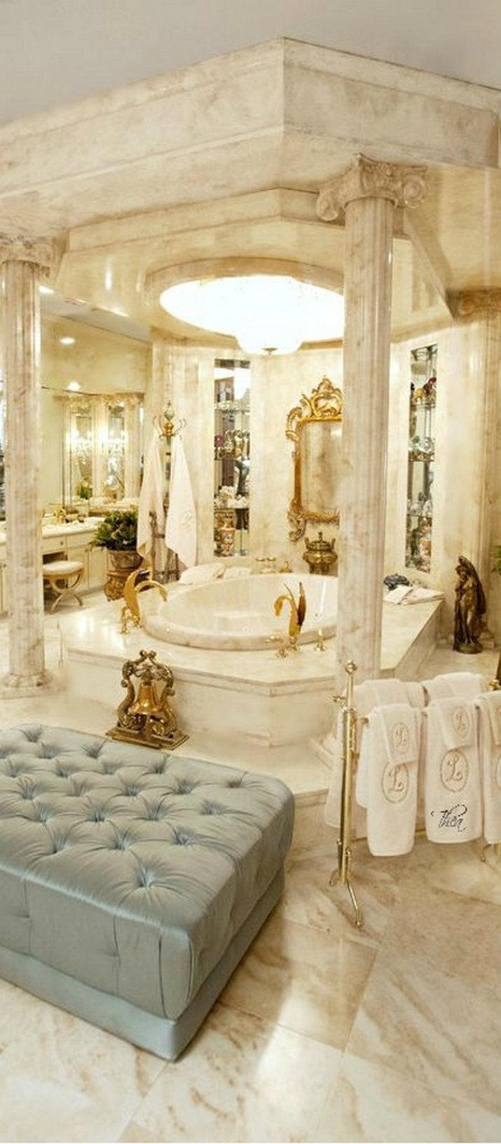 maison bains TOP 8 MILLIONAIRES SALLES DE BAINS DANS LE MONDE maison