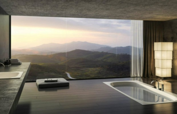 bains TOP 8 MILLIONAIRES SALLES DE BAINS DANS LE MONDE salle de bain luxe design panorama 620x400