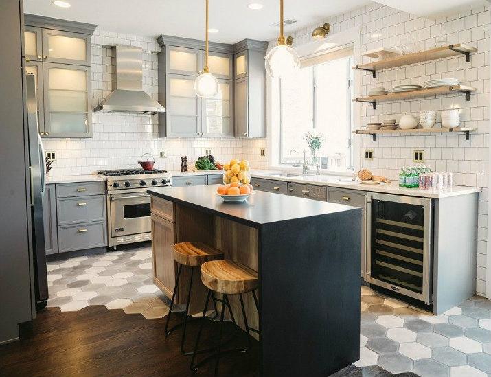 tendances design d'intérieur pour 2017 tendances design d'intérieur 10 tendances design d'intérieur pour 2017 transitional kitchen decor with brass kitchen hardware ideas in chicago
