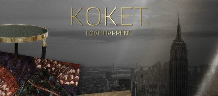 Koket vous invite au salon AD Design Show Koket Koket vous invite au salon AD Design Show Love Happens KOKET Lounge AD Show 2017 1 955x400 710x315
