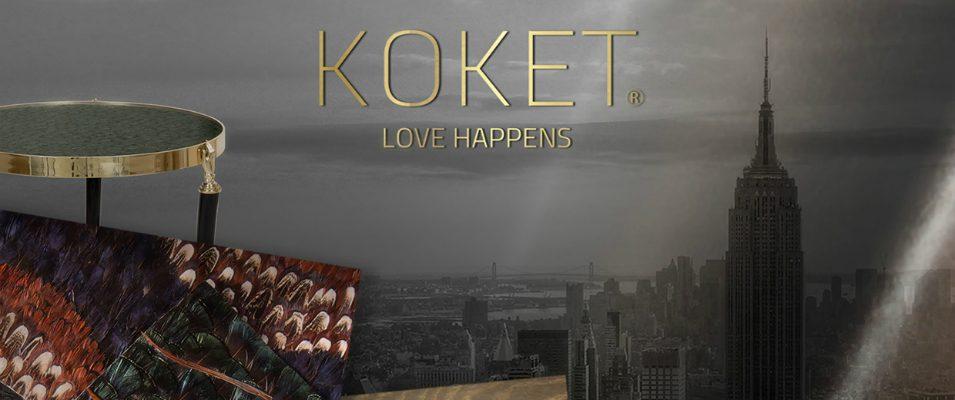 Koket vous invite au salon AD Design Show Koket Koket vous invite au salon AD Design Show Love Happens KOKET Lounge AD Show 2017 1 955x400
