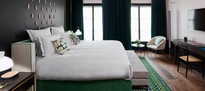 Roch Hotel & Spa Paris conçu par Sarah Lavoine Sarah Lavoine Roch Hotel & Spa Paris conçu par Sarah Lavoine le roch bedroom S 01 r 710x315