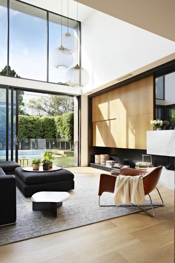 Maison Contemporaine Avec Des Lampe Moderne Comme Astuce Deco