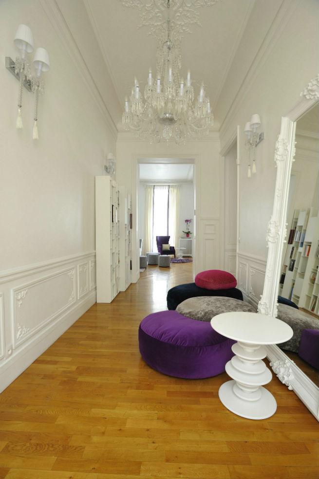 Découvrez le style moderne de cet appartement à Paris.  Découvrez le style moderne de cet appartement à Paris. Youll Love the Interiors of this Haussmann Style Apartment in Paris 16