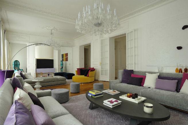 Découvrez le style moderne de cet appartement à Paris.  Découvrez le style moderne de cet appartement à Paris. Youll Love the Interiors of this Haussmann Style Apartment in Paris 2