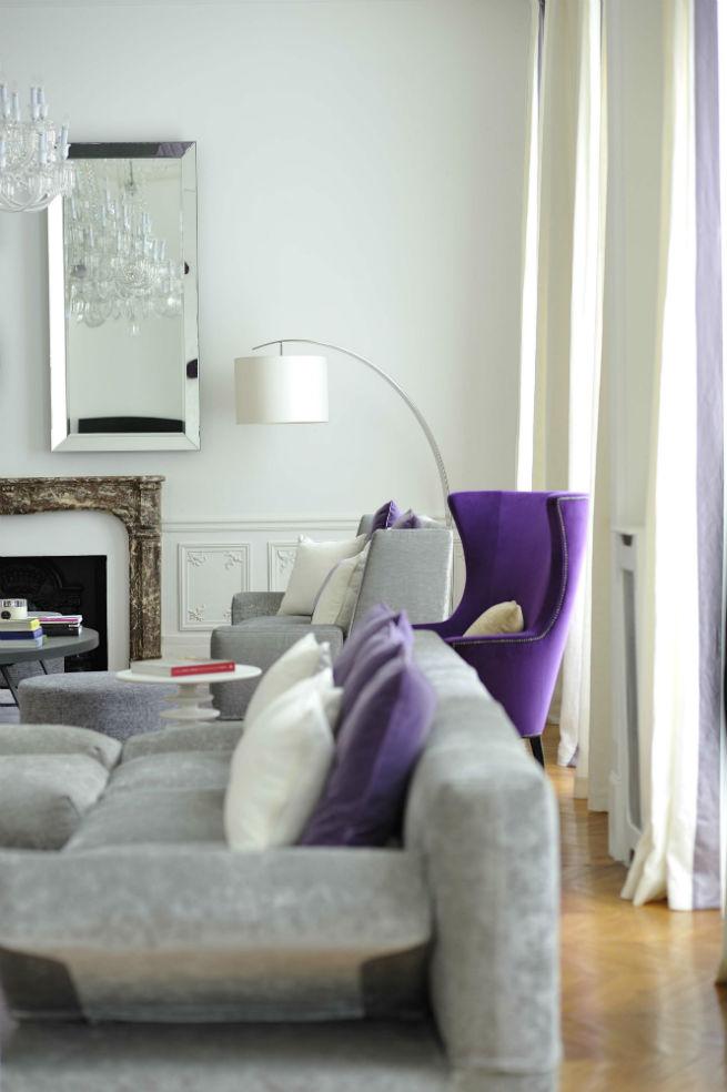Découvrez le style moderne de cet appartement à Paris.  Découvrez le style moderne de cet appartement à Paris. Youll Love the Interiors of this Haussmann Style Apartment in Paris 5