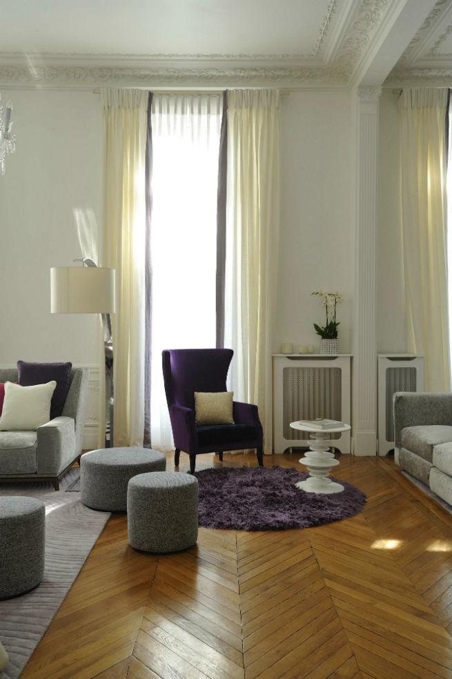 Découvrez le style moderne de cet appartement à Paris.  Découvrez le style moderne de cet appartement à Paris. Youll Love the Interiors of this Haussmann Style Apartment in Paris 6