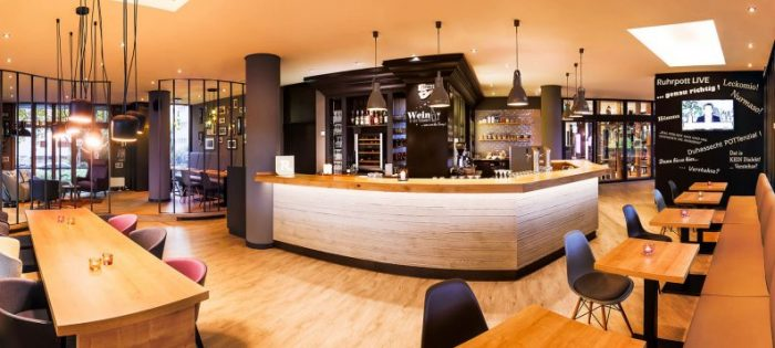 Des idées incroyables de salle à manger de restaurant  Des idées incroyables de salle à manger de restaurant 01 MDB Bar e1486986520299