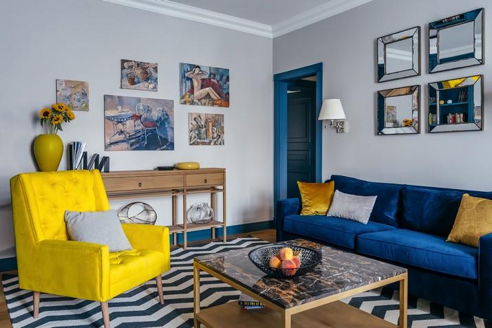 Une Palette de Bonheur Unique Dans Un Appartement de luxe  à Moscou Image00005