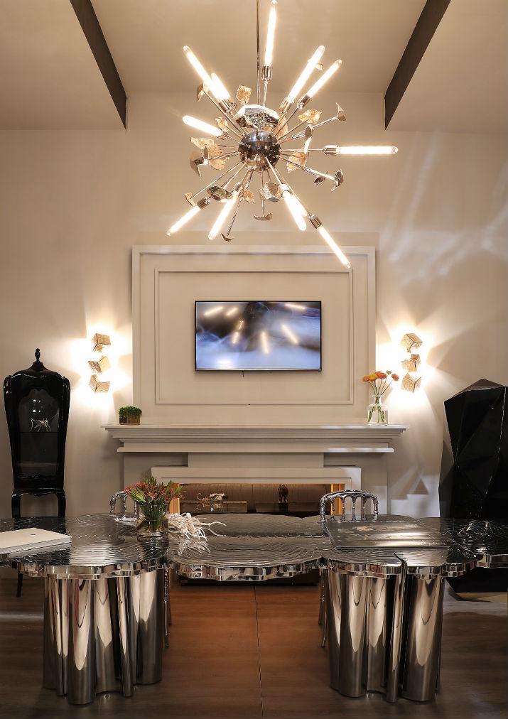 Top 10 pièces d'éclairage contemporaines pour votre salon  Top 10 pièces d'éclairage contemporaines pour votre salon P2