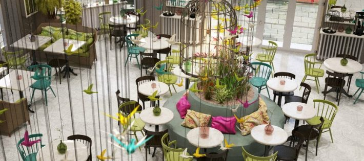 Des idées incroyables de salle à manger de restaurant